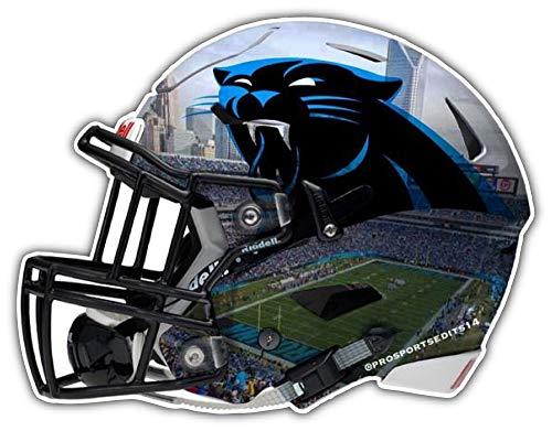 Sport Carolina Panthers Helmet NFL Car Bumper Sticker Decal 5