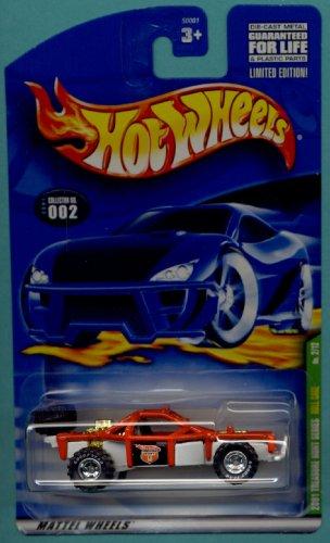 Mattel Hot Wheels 2001 Treasure Hunt 1:64 Scale Red Roll Cage 2/12 Die Cast Car #002