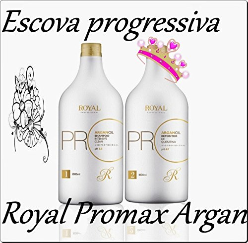 ROYAL PRO-MAX ARGAN OIL PROGRESSIVE BRUSH (2x1L) by Royal Pro-Max