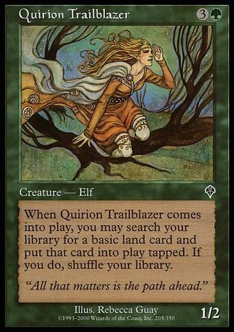 Magic: the Gathering - Quirion Trailblazer - Invasion (Trailblazer Game)