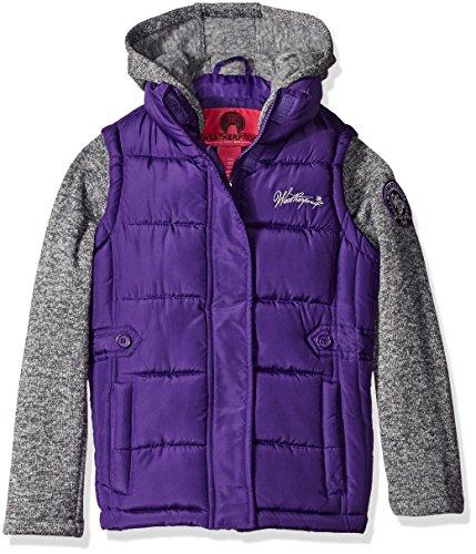 Weatherproof Bubble Jacket Sweater Sleeves product image