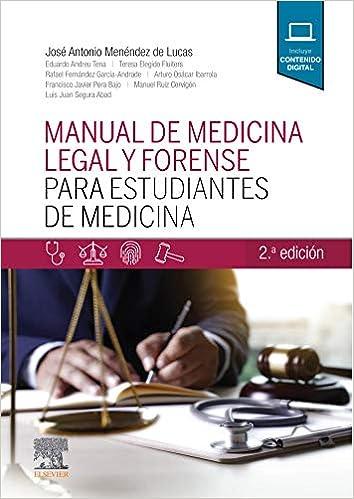 Manual de medicina legal y forense para estudiantes de Medicina (2ª ed.) (Spanish Edition) - Original PDF