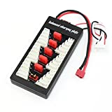 YoCoo® Parallel Charging Board Balanced Charging Plate for FPV RC 2S-6S Lipo Battery with T Plug