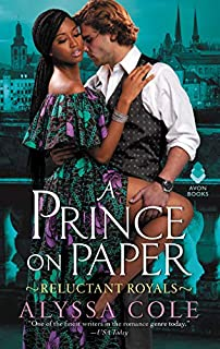 Book Cover: A Prince on Paper: Reluctant Royals