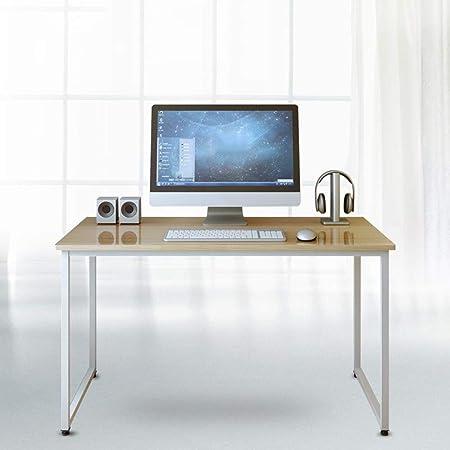 ZAIYI-DESK Mesa de Estudio de Escritorio de computadora Mesa de ...