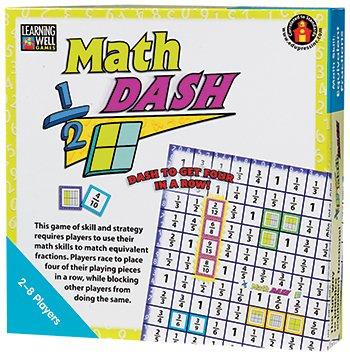 Edupress LRN2347 Math Dash Equivalent Fractions