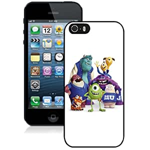 Beautiful Custom Designed Cover Case For iPhone 5s With Monsters University Phone Case