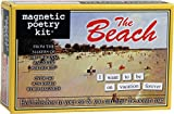 Magnetic Poetry - The Beach Kit - Words for Refrigerator - Write Poems and Letters on the Fridge - Made in the USA