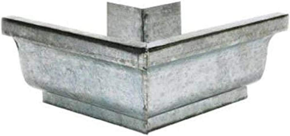 AMERIMAX HOME PRODUCTS 29202 5-Inch Mill Finish Galvanized Outside Mitre