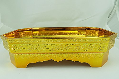 Traditional / Classic Octagon Tray in Thai Pattern