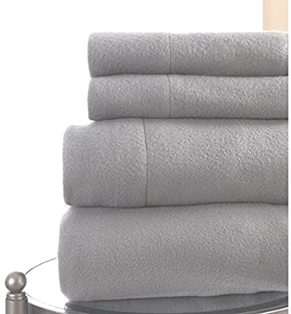 Amazon Com King Fleece Sheet Set Extremly Soft And Cozy 6 Piece For