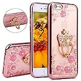 Best IKASEFU Iphone 6 Case Purples - IKASEFU iPhone 6 plus,iPhone 6S plus Case,Rose gold Review