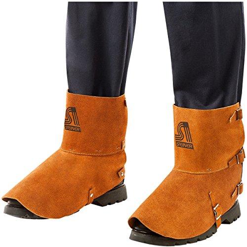 Steiner 12185 Spats, Split Cowhide Leather Shoe Protector, 5