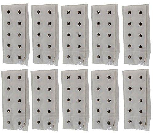 L'Acupression Magnétique Patchs Adhésifs - 10 Feuilles (100 Aimants - 450 Gauss)