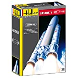 Heller Ariane 5 European Space Agency Heavy Launch Spacecraft Model Building Kit