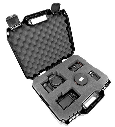 TOUGH-XL Hard-Body Travel and Storage Case Camera , Gear , Equipment and Lenses - Protects Nikon Digital SLR dSLR D3300 / D3200 / D750 / D7100 / D810 / D3100 / D5500 / D7200 / D7000 and more (Camera Hard Case)