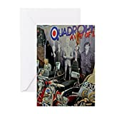 CafePress - QUADROPHENIA - Greeting Card, Note Card, Birthday Card, Blank Inside Matte