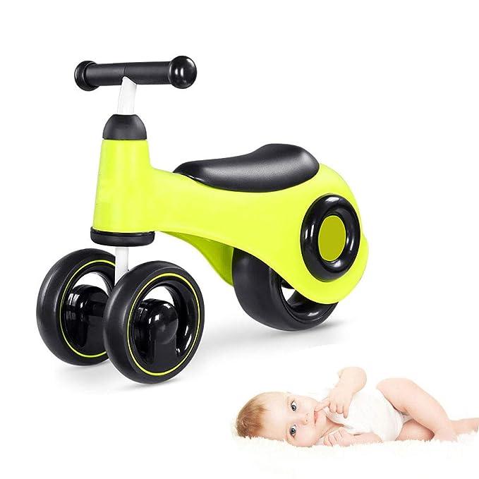 WDXIN Bicicleta sin Pedales Bebé Juguetes 1-3 años de Edad Bebe ...