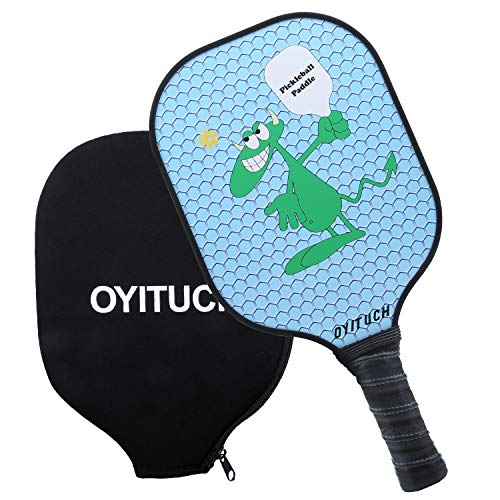 - AIKER Pickleball Paddle Graphite Paddles Honeycomb Composite Core Include Racket Cover