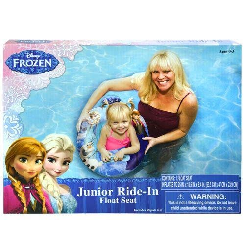Disney Frozen Pool Float Seat - Baby Toddler Ride-in Swim Ring