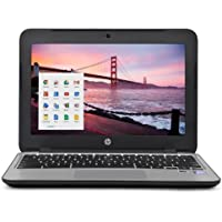 HP Chromebook 11 G3 11.6-inch Intel Celeron N2840 4GB 16GB SSD Storage Google Chrome OS Notebook Laptop Computer