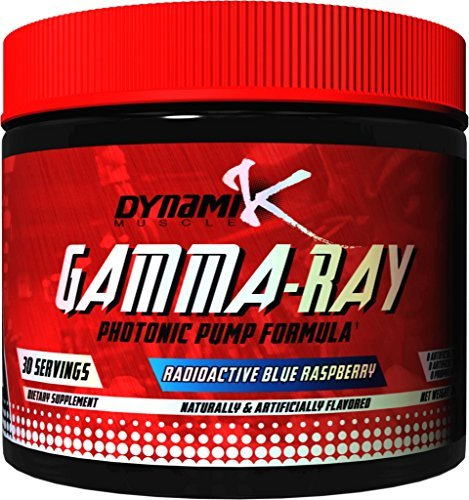 Gamma-Ray | Dynamik Muscle | Photonic Pumps | Formulated By Kai Greene (Radioactive Blue Raspberry), 8.46oz (240g)