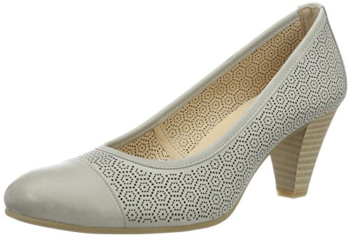 Caprice Women's 22501 Closed-Toe Pumps Grey (Grey Nubuc) new arrival cheap price clearance sneakernews FLVHo