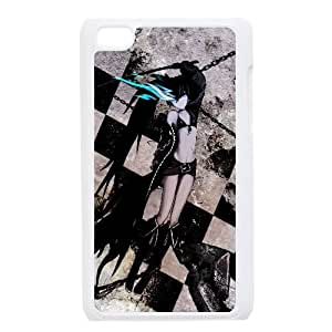 Black Rock Shooter Anime iPod Touch 4 Case White yyfabb-115134