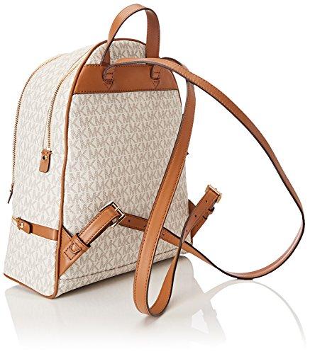 dbafde8b5364 Michael Kors Rhea Medium Logo Print Backpack - Vanilla 30S7GEZB1B-150