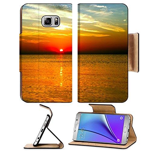 Liili Premium Samsung Galaxy Note 5 Flip Pu Leather Wallet Case Blue skysun and sea Note5 IMAGE ID 37372518 (Outdoor Furniture Sunshine Coast Sale)