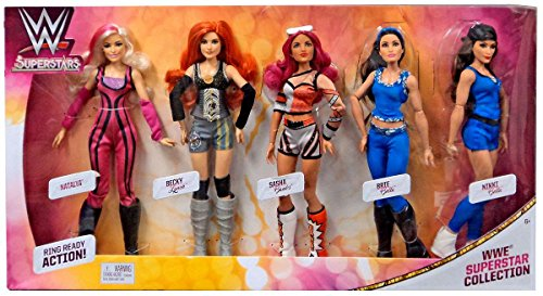 WWE SUPERSTARS FASHION DOLLS COLLECTION 5-PACK by WWE SUPERSTARS
