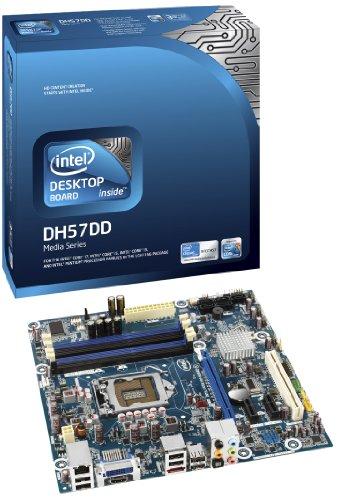 (Intel Socket 1156/Intel H57/DDR3/A&GbE/MATX Motherboard, Retail BOXDH57DD)