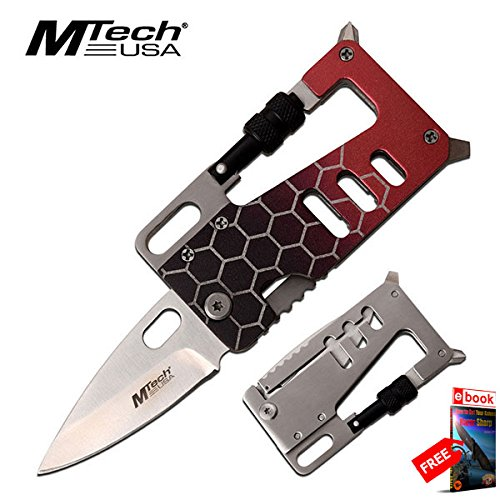Mtech Money Clip (Folding Wallet Knife Multi Tool 3.25