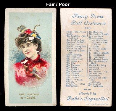 1889 Duke N73 Fancy Dress and Ball Costumes (Non-Sports) Card# 11 cupid - Daisy Murdock Fair (Daisy Duke Fancy Dress)
