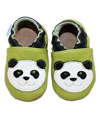 Leder 26 Monate 30 27 Pandamotiv 36 Babice Krabbelschuhe Mit Von Schuhgröße wxwgRqSr