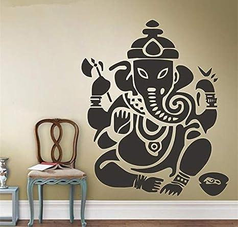 Elefante Yoga Mandala de Buda Ganapati Pegatinas de pared ...