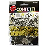 Amscan International Confetti Music Notes, Pack of 3