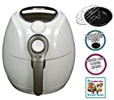Avalon Bay Air Fryer for Healthy Fried Food 3.7 Quart Capacity Includes Airfryer Baking Set and Recipe Book AB-Airfryer100W