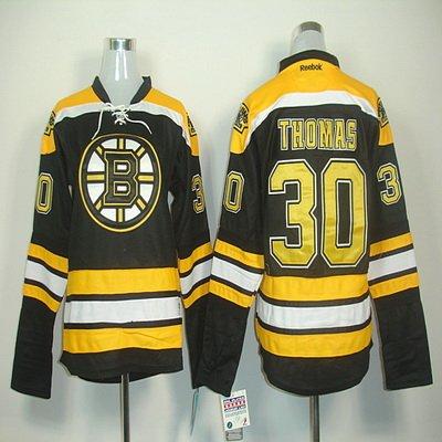 Reebok Boston Bruins Tim ThomasプレミアホームジャージーXLサイズ