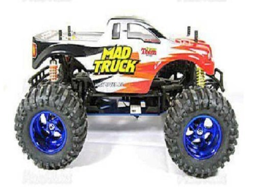 1:10 Rc Electric 4wd Mad Truck RED