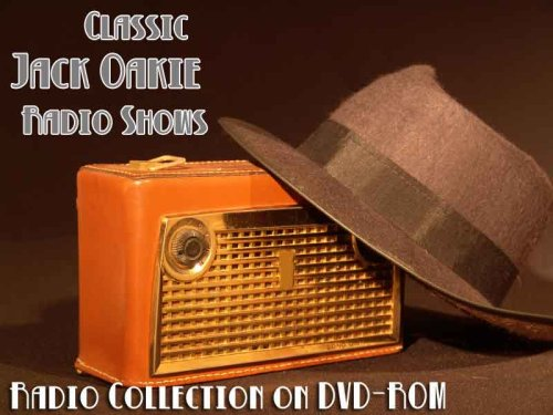 1 Classic Jack Oakie Old Time Radio Broadcasts on DVD (over 31 Minutes running time)