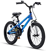 RoyalBaby BMX Freestyle Kids Bike, Boy's Bikes and Girl's Bikes with Training Wheels, Gifts for Childr
