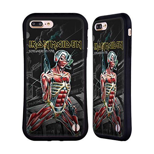 Official Iron Maiden Somewhere Album Covers Hybrid Case for iPhone 7 Plus/iPhone 8 Plus