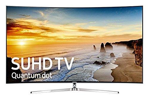 SAMSUNG 4K Ultra HD Curved 240 MR Full Web TV, 65-Inch (Certified Refurbished)