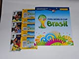 Panini 2014 FIFA World Cup Brasil Official Sticker Album with 5 Packs of Stickers & 3 Packs of FIFA World Cup Brasil Adrenalyn Trading Cards