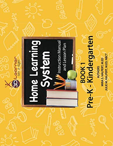 - 3D Learner Home Learning System Instruction Manual and Lesson Plan Book 1: Pre-K - Kindergarten