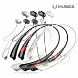 ROYCHE MUSES Bluetooth Headset BTH-860 / Black Red / International ver.