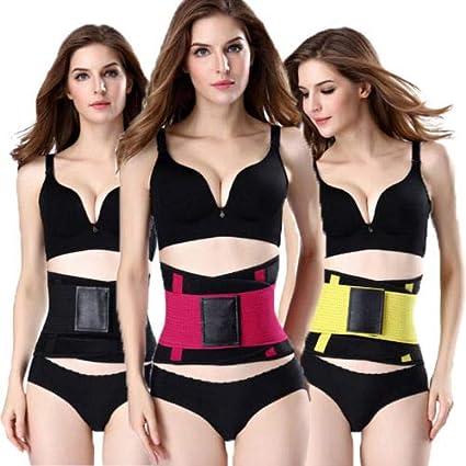 3eea026b9dd World 2 home 2018 New Arrival Plus Size S-2XL Women Waist Shapers Cincher  Belt Hot Power Slimming Body Shaper Waist Trainer Trimmer Sportwear   Amazon.in  ...