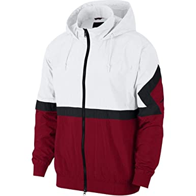 Jordan Sportswear Diamond Track Cortavientos Hombre Blanco ...