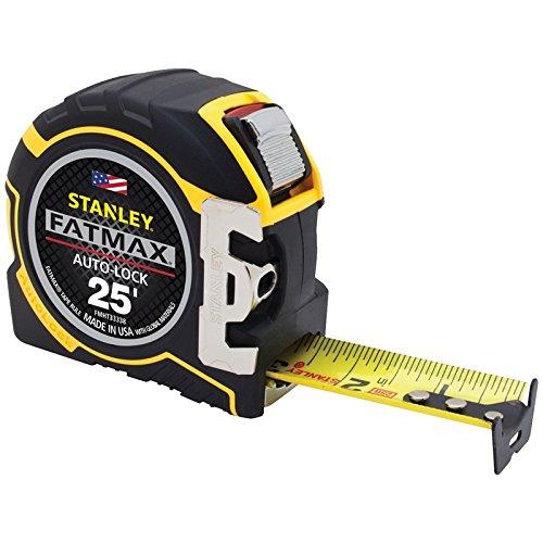 Stanley Fat Max FMHT33338L 25' L X 1-1/4'' W Auto Lock Tape Measure